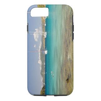 Coque iPhone 8/7 Snorkelers dans la crique idyllique d'enfoncement