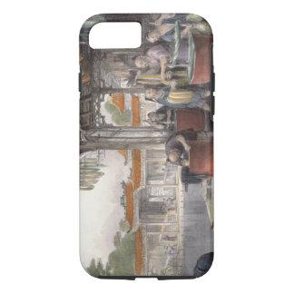 Coque iPhone 8/7 Soie de teinture et de enroulement, de 'Chine