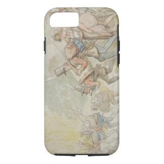 Coque iPhone 8/7 Soldats en mars 1805 (stylo et encre et watercolo