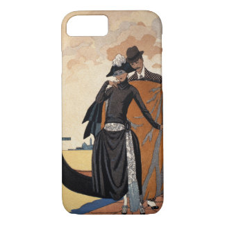 Coque iPhone 8/7 Son et lui, mode Illustration, 1921 (pochoir p