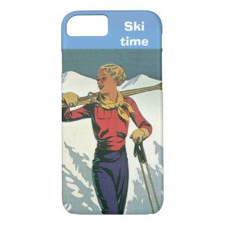 Coque iPhone 8/7 Sports d'hiver - temps de ski