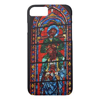 Coque iPhone 8/7 St John l'évangéliste montant les épaules d'Ez