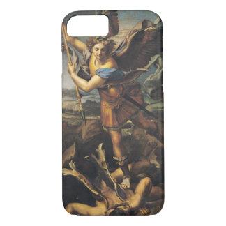 Coque iPhone 8/7 St Michael accablant le démon, 1518