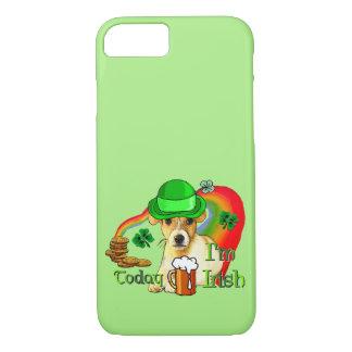 Coque iPhone 8/7 St patrick de Jack Russell Terrier