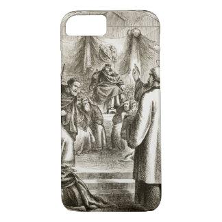 Coque iPhone 8/7 St Patrick prêchant chez Tara, 'du trias Thu
