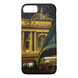Coque iPhone 8/7 Station centrale grande - nuit - New York City