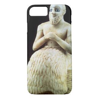 Coque iPhone 8/7 Statue du fonctionnaire Ebih-IL, du temple de