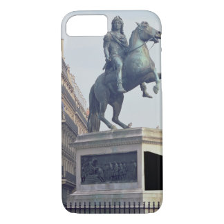 Coque iPhone 8/7 Statue équestre du Roi Louis XIV (1816-22) (bro