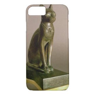 Coque iPhone 8/7 Statuette d'un chat représentant la déesse Bastet
