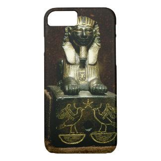 Coque iPhone 8/7 Statuette d'un sphinx du Roi Tuthmosis III,