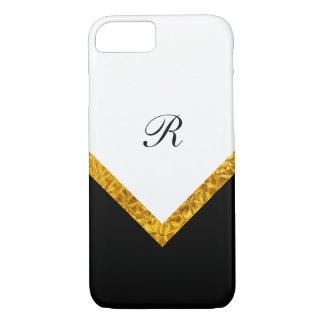 Coque iPhone 8/7 Style moderne chic de monogramme