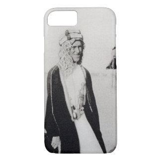 Coque iPhone 8/7 T.E. Lawrence dans la robe arabe (photo de b/w)