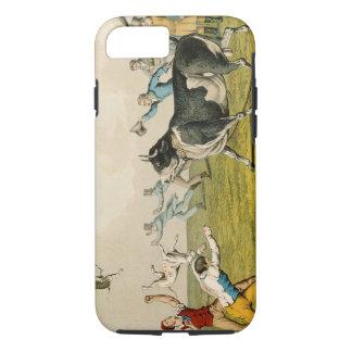 """Coque iPhone 8/7 """"Taureau amorçant"""", pub. par Thomas McLean, 1820,"""