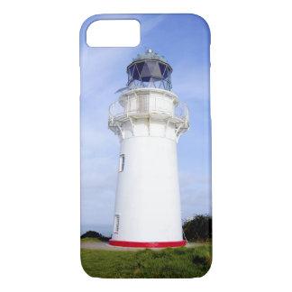 Coque iPhone 8/7 Te Araroa, Nouvelle Zélande. Un phare donne