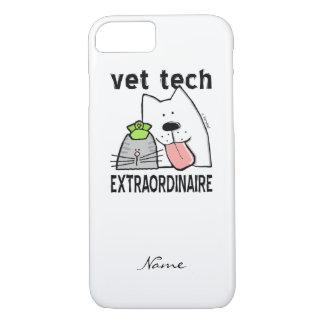 Coque iPhone 8/7 Technologie de vétérinaire d'amusement de