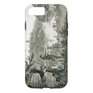 Coque iPhone 8/7 Télécarte de Humphrey Repton, gravée par Thoma