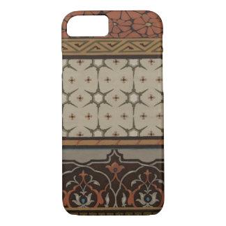 Coque iPhone 8/7 Textile d'héritage avec les motifs décoratifs