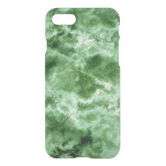 Coque iPhone 8/7 Texture de marbre verte