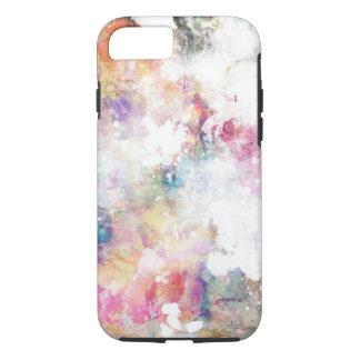 Coque iPhone 8/7 Texture grunge abstraite avec la peinture 2