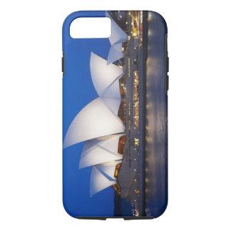 Coque iPhone 8/7 Théatre de l'opéra de Sydney la nuit, Sydney,