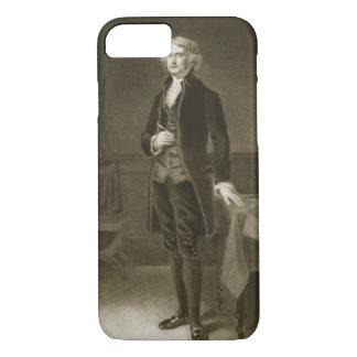 Coque iPhone 8/7 Thomas Jefferson, 3ème président de la stat unie