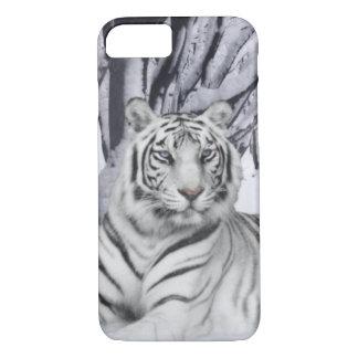 Coque iPhone 8/7 Tigre blanc