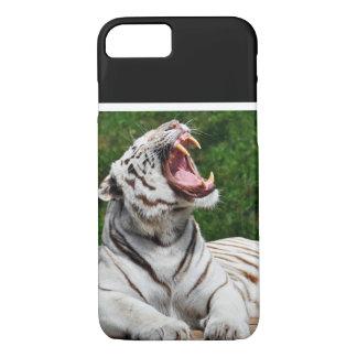 Coque iPhone 8/7 Tigre blanc, tigre de Bengale