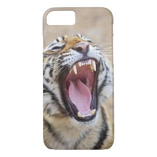 Coque iPhone 8/7 Tigre de Bengale royal baîllant, ressortissant de