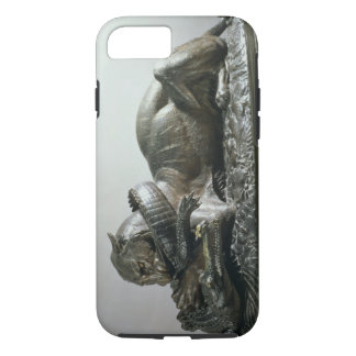 Coque iPhone 8/7 Tigre dévorant un alligator, 1832 (bronze)