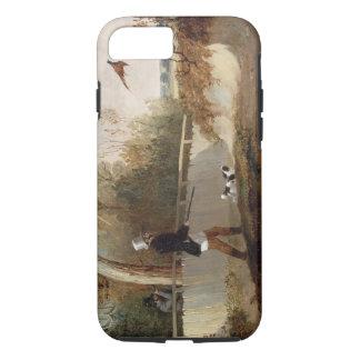 Coque iPhone 8/7 Tir de faisan (huile sur la toile)
