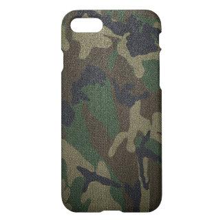 Coque iPhone 8/7 Tissu de Camo de région boisée