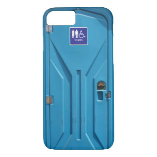 Coque iPhone 8/7 Toilette portative publique drôle