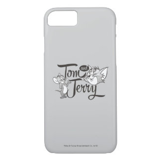 Coque iPhone 8/7 Tom et Jerry | Tom et Jerry semblant doux