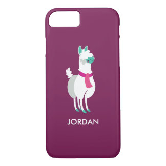 Coque iPhone 8/7 Tommy le lama