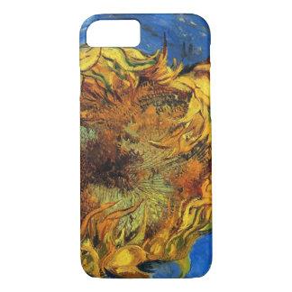 Coque iPhone 8/7 Tournesols coupés de Van Gogh deux, beaux-arts