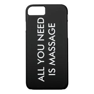 Coque iPhone 8/7 TOUT que VOUS AVEZ BESOIN EST cas de téléphone de