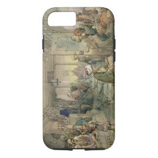 Coque iPhone 8/7 Un café, Constantinople, 1854 (stylo et encre et
