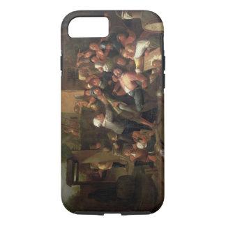Coque iPhone 8/7 Un combat en dehors d'une taverne
