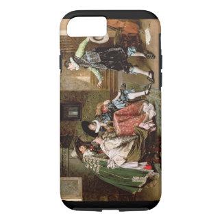 Coque iPhone 8/7 Un conte s'engageant, 1894 (huile sur le panneau)