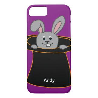 Coque iPhone 8/7 Un lapin dans le casquette