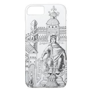 Coque iPhone 8/7 Un roi de Carlovingian dans son palais,