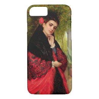 Coque iPhone 8/7 Une beauté espagnole, 1872 (huile sur la toile)