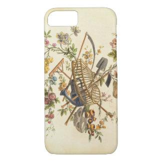 Coque iPhone 8/7 Une conception de textile de jardin, 'de l'ONU