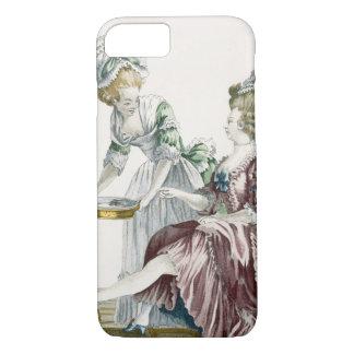 Coque iPhone 8/7 Une femme élégante se lavant les pieds, plaquent