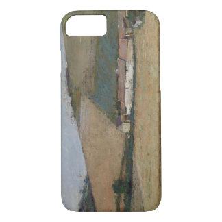 Coque iPhone 8/7 Une ferme parmi des collines, Giverny, c.1887
