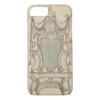 """Coque iPhone 8/7 Une table de """"Toylet"""", du Cabinet Direc d'un"""