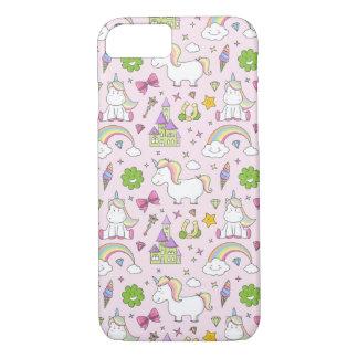 Coque iPhone 8/7 Unicorn case iPhone fairytale