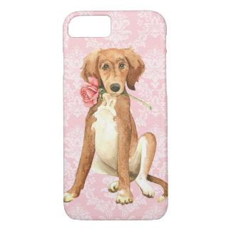 Coque iPhone 8/7 Valentine Saluki rose