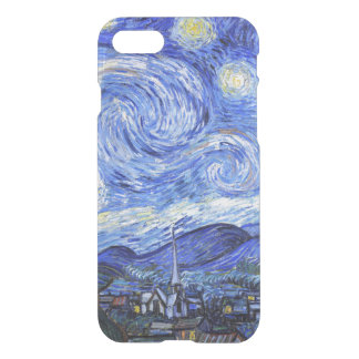 Coque iPhone 8/7 Van Gogh la nuit étoilée