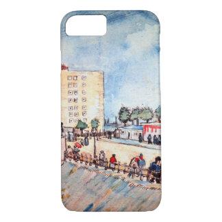 Coque iPhone 8/7 Van Gogh ; Porte en remparts de Paris, beaux-arts